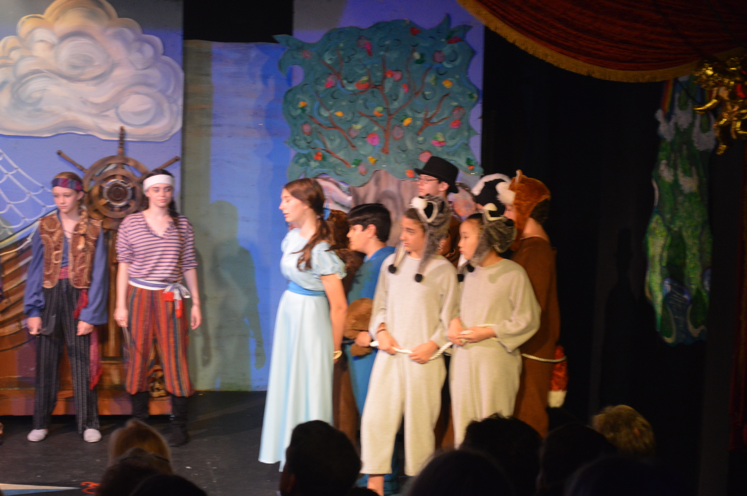 brundage park playhouse stars shine in peter pan jr news tapinto