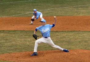 Lefty Chris Gibbons (7) was on the mound for Scotch Plains-Fanwood against Westfield on Tues, April 1st.