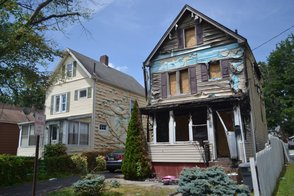Homes Damaged by Arson