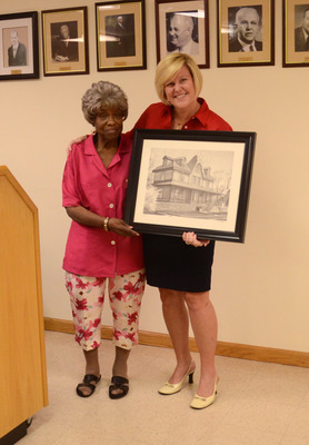 Fanwood Volunteer of the Month for August, photo 2