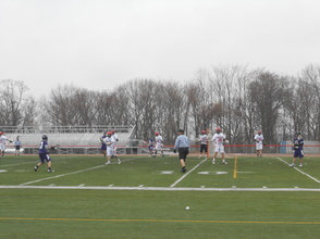 Gov. Livingston Boys Lacrosse Loses Rain Soaked Home Opener to Old Bridge, 8-5, photo 1
