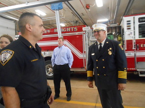 Sen. Cory Booker and Rep. Leonard Lance Visit Berkeley Heights To Present $185,360 Federal Grant For Firefighter Assistance, photo 7