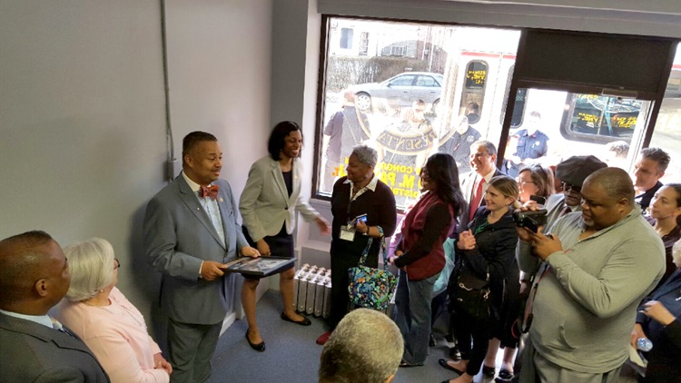 Union's Mayor and Deputy Mayor Join Congressman in Hillside Office Opening