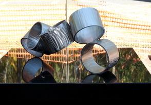 "Art Advisory Unveils Lenny Shapiro's ""Rotare"" Sculpture at the Millburn Public Library, photo 1"