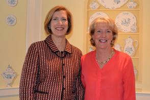 Ginny Jordan, Sales Manager (left) and Karen Schneider, President, Lois Schneider Realtor