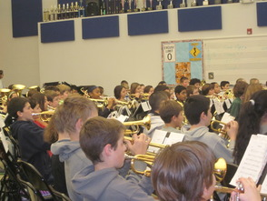 Randolph Middle School Sixth-Grade Band to be on NJ Network 'Classroom Close-up' in March, photo 7