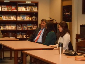 Gov. Livingston Alumni Return For 'College Student Forum', photo 3