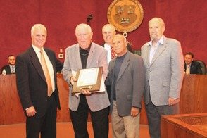 Roselle Park Honors Former Graduate with Key to the City, photo 1