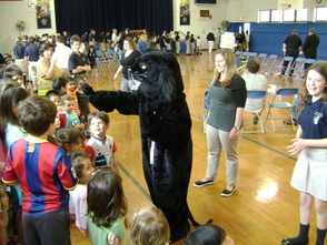 Our Lady of Peace Academy Holds Pep Rally for Panther Power Robotics Team, photo 4