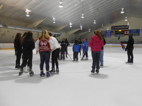 Community Enjoys Gov. Livingston Varsity Hockey Holiday Skate , photo 6