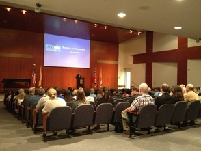 Seton Hall President Addresses Employees with State of the University, photo 2
