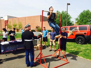 BRHS Reaches More Than 500 Pull-Ups in Basilone Bowl Spirit Competition, photo 3