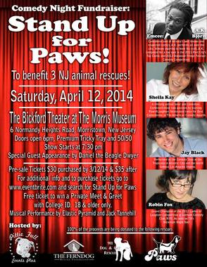Stand Up for Paws: A Night of Comedy For Rescue, photo 1