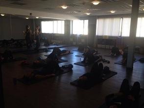 Great energy at Align Wellness Studio