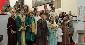 Christmas Eve Children's Pageant at FCC