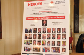 Heroes pictured at the event.
