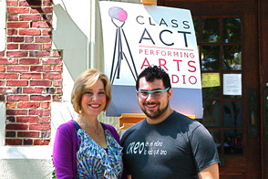 Page O'Connor and Kendal Sparks of Class Act Performing Arts Studio