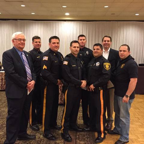 Cranbury Police Officers Honored By County Organization South Brunswick Cranbury Nj News