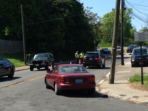 West Paterson Police Facing Route 80
