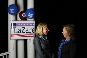 Assembly Candidate Jill LaZare and Assemblywoman Linda Stender, photo 1
