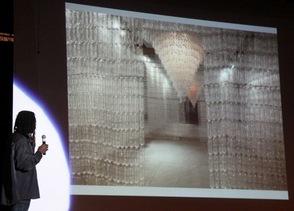 Water bottle exhibit