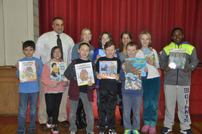 Author Audrey Vernick at Jefferson School
