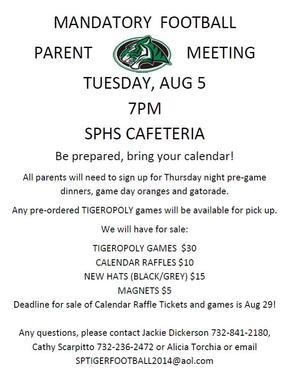 Mandatory Football Parent Meeting, photo 1