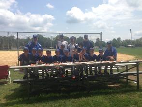 SPFBL's 8U Team in Branchburg