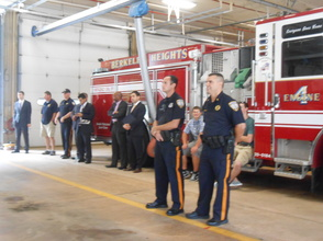 Sen. Cory Booker and Rep. Leonard Lance Visit Berkeley Heights To Present $185,360 Federal Grant For Firefighter Assistance, photo 9