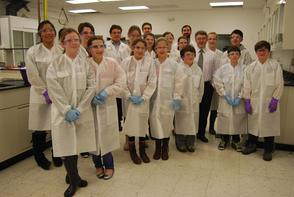 Chatham STEM Hosts Student Tour of BioMedical Research Institute of NJ, photo 1