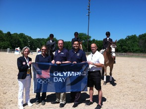 Watchung Stables Holds Olympic Equestrian Day, photo 1