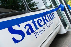 Seton Hall University Holds Ribbon-Cutting Ceremony for SafeRide Shuttle, photo 1