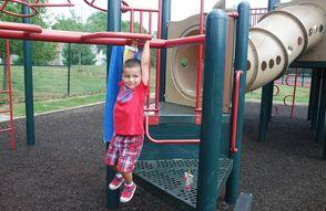Hanging at Esposito Park
