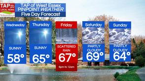 West Essex Area Weather for Wednesday, April 9 , photo 1