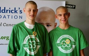 Fifteen Warren Boys Went Bald For St. Baldrick's Foundation To Support Childhood  Cancer Research , photo 4