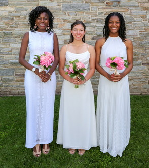 West Orange residents (pictured l to r) Shayla Harris, Ivana Kohut and Denae Wilkins