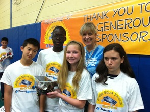 New Providence Middle School Hosts Junior Solar Sprints Competition, photo 8