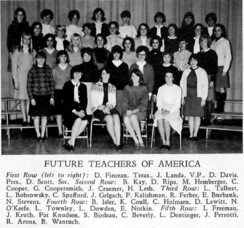 LHS Future Teachers of America Club-1966