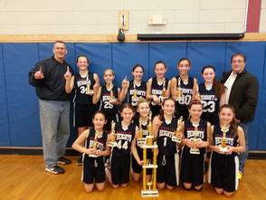 Berkeley Heights 6th Grade Girls Basketball Team Wins Branchburg March Madness Tournament, photo 1