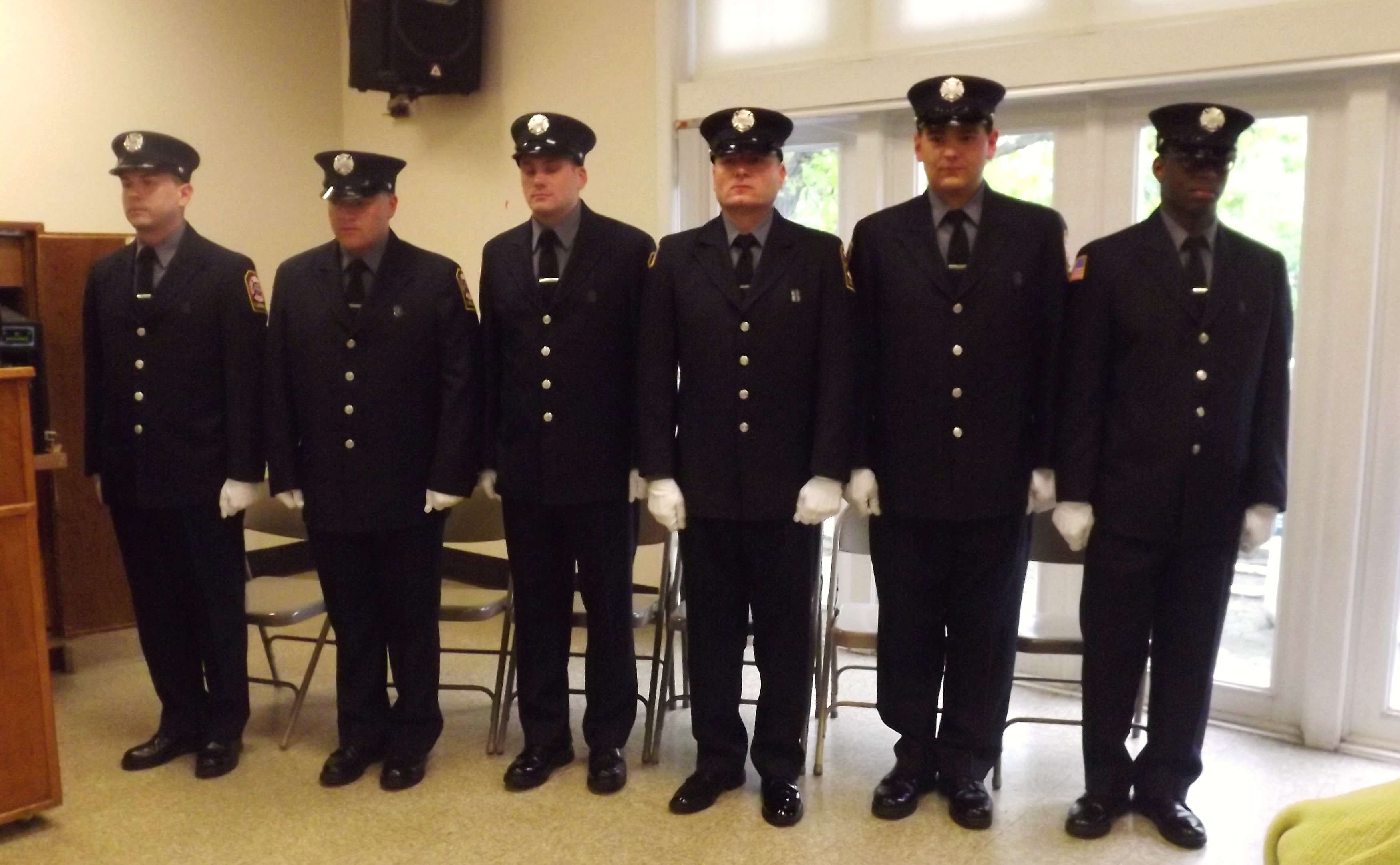 West Orange Fire Department Swears In Six Probationary