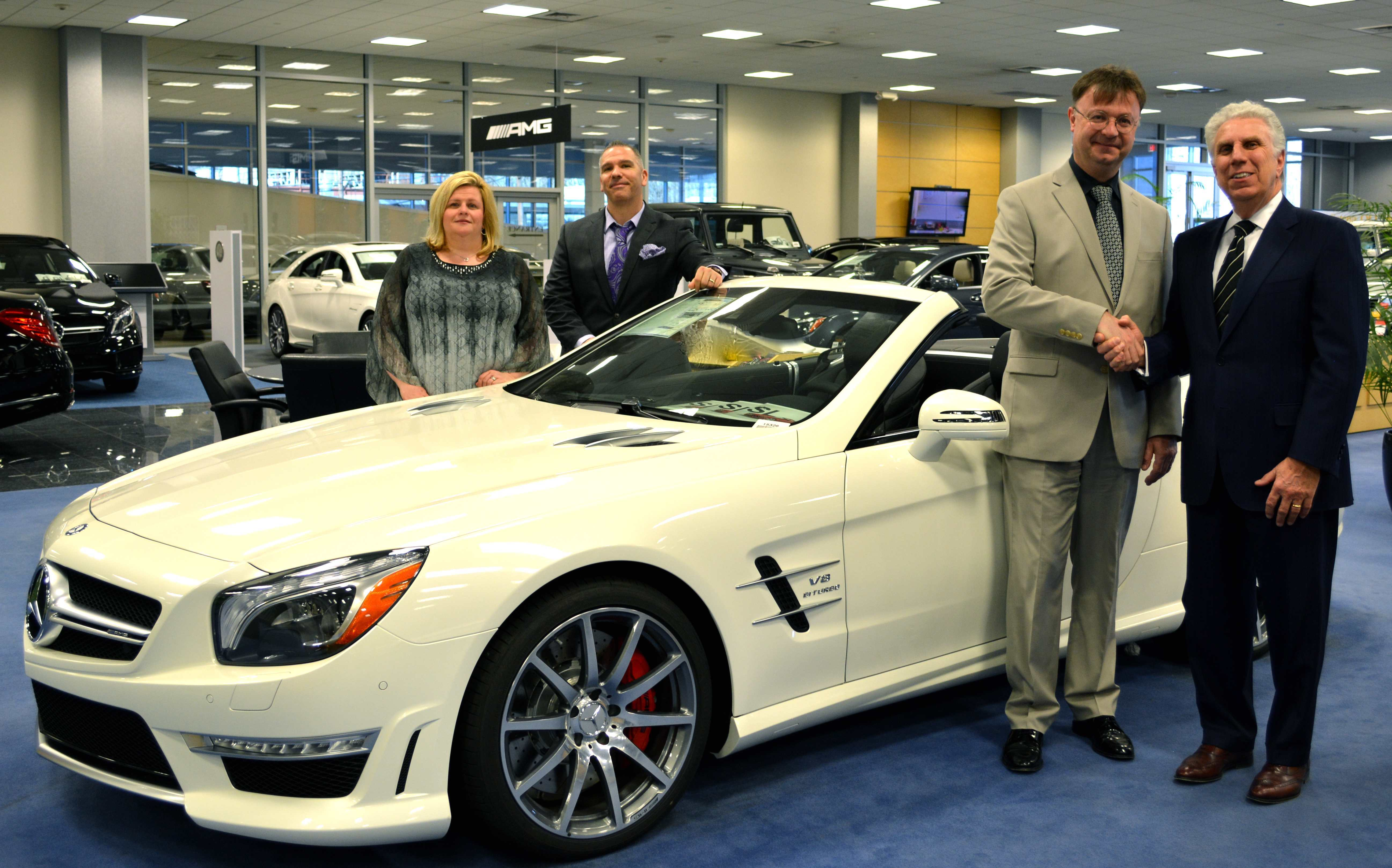 Ray catena of union announced as corporate sponsor for nj for Mercedes benz ray catena