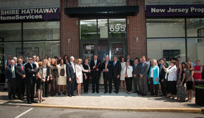 Berkshire Hathaway HomeServices Ribbon Cutting