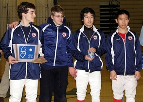 Gov. Livingston Fencers Ace District Tournament, photo 5