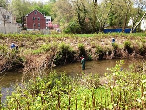 Volunteers from South Orange, Maplewood and Millburn team up for River Day 2014., photo 1