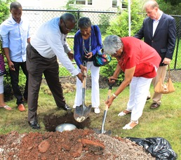 Roselle Community Joins Dr. Polk Family and Plants Time Capsule, photo 15