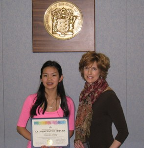 Westfield Student's Art Selected for State House Display, photo 1