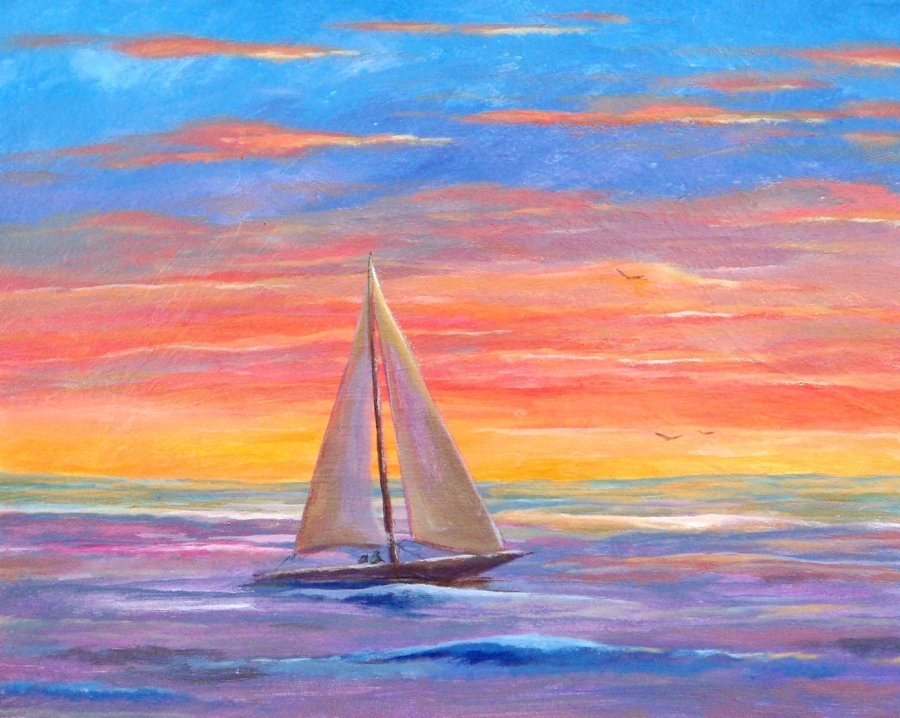 Paint and Sip Event at the Meyersville Inn - Sailboat ...