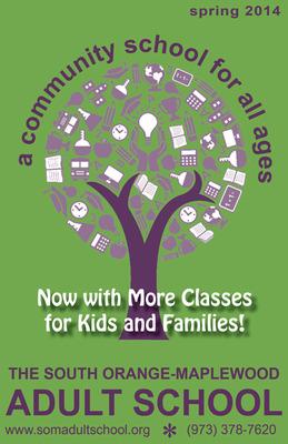 South Orange-Maplewood Adult School Spring Catalog
