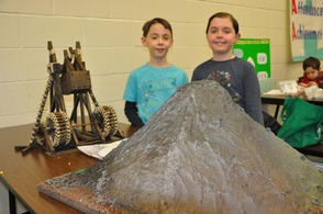 Valley View Elementary's Science Fair