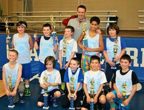 Clark Winter Basketball Tournament Champions